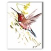 Americanflat Hummingbird 2 Painting Print on Canvas