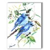 Americanflat Mountain Birds Painting Print on Canvas