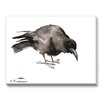 Americanflat Crow 2 Painting Print on Canvas