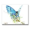 Americanflat Butterfly 2 Painting Print on Canvas