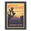 Americanflat Joshua Tree Framed Vintage Advertisement