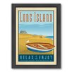 Americanflat Long Island Rowboat Framed Vintage Advertisement