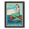 Americanflat Mermaid Queen Framed Graphic Art