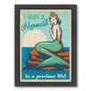 Americanflat Mermaid Queen Framed Graphic Art
