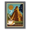Americanflat Coffee Guatemala Framed Vintage Advertisement