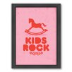 Americanflat Kids Framed Graphic Art