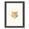 Americanflat Squirrel Art Framed Graphic Art
