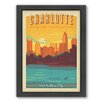 Americanflat Charlotte Framed Vintage Advertisement