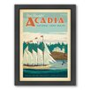 Americanflat Acadia Framed Vintage Advertisement