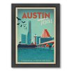 Americanflat Austin Framed Vintage Advertisement