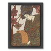 Americanflat Geisha Framed Graphic Art