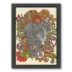 Americanflat Bo the Elephant Framed Graphic Art