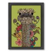 Americanflat Hello Person Flower Framed Graphic Art