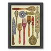 Americanflat Let Cook Framed Graphic Art