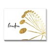 Americanflat Khristian Howell Londontown Graphic Art Gallery Wrapped Canvas