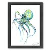 Americanflat Octopus Framed Painting Print