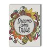 Americanflat Dreams Come True Framed Graphic Art