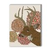 Americanflat Dear Deer Framed Graphic Art