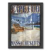 Americanflat Cape Cod Framed Graphic Art