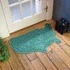 Bungalow Flooring Aqua Shield USA Map Doormat