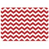 Bungalow Flooring Chevron Decorative Mat
