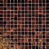 "<strong>MS International</strong> 3/4"" x 3/4"" Iridescent Glass Mosaic in Brown Iridescent"