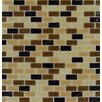 <strong>Desert Spring Glass Mesh Mounted Mosaic Tile in Multi</strong> by MS International
