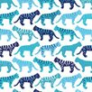 <strong>Avalisa</strong> Animals Tiger Pattern Stretched Canvas Art