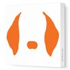 <strong>Avalisa</strong> Animal Faces Floppy Ears Stretched Canvas Art