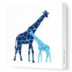 <strong>Avalisa</strong> Animals Reticulated Giraffe Stretched Canvas Art