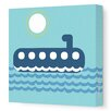 Avalisa Things That Go Submarining Stretched Canvas Art