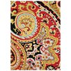 Loloi Rugs Francesca Red & Black Area Rug