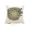 123 Creations Puffer Fish 100% Wool Hook Pillow