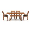 "Copeland Furniture Sarah Trestle 66 - 90""W Extension Dining Table"