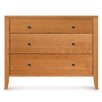 Copeland Furniture Dominion 3 Drawer Chest with Flush Mounted Top