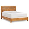 Copeland Furniture Dominion Platform Bed with Slat Headboard