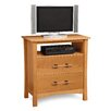 <strong>Copeland Furniture</strong> Monterey 2 Drawer Chest with Media Organizer
