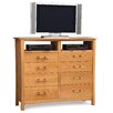 Copeland Furniture Monterey 8 Drawer Chest with Media Organizer