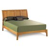 Sarah Sleigh Bed with Low Footboard