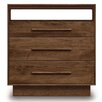 <strong>Moduluxe 3 Drawer Dresser with Media Organizer</strong> by Copeland Furniture