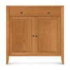 <strong>Copeland Furniture</strong> Dominion 1 Drawer with Cabinet Overhanging Top