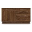 Copeland Furniture Moduluxe 4 Right Drawer Dresser