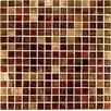 Casa Italia Gold/Bronze Glass Mosaic in Mix Rosso/Ramato