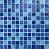 <strong>Casa Italia</strong> Crystal-A Glass Mosaic in Mix Sky Gloss