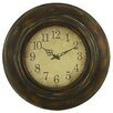 "Aspire Cardiff 23.5"" Round Wall Clock"