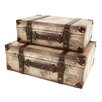 <strong>Windsor 2 Piece Suitcase Trunk Set</strong> by Aspire