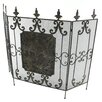 <strong>Aspire</strong> Fleur De Lis Norwalk 3 Panel Metal Fireplace Screen