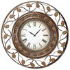"36"" Decorative Iron Wall Clock"