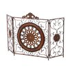 <strong>3 Panel Metal Fireplace Screen</strong> by Aspire
