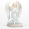 Roman, Inc. Kneeling Angel with Baby Figurine